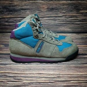 LL Bean Alpine Green Day Hiker Boots VINTAGE 5.5